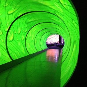 6 Projector Blend, Custom Scenic Tunnel