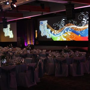 HD Projection, Moving Lights, Line Arrays